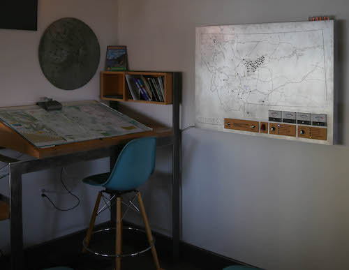 The MTDT in the Lark Map Room
